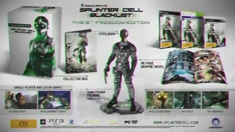 Splinter Cell: Blacklist Vid Unboxes the 5th Freedom Collector's Edition - Xbox 360 Achievements | Xbox 360 games and news | Scoop.it