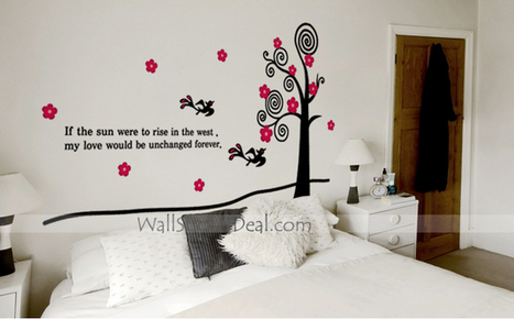 Under The Shade Of A Tree Wall Sticker – WallStickerDeal.com   Tree Wall Stickers   Scoop.it