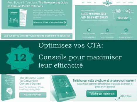 Optimisez vos CTA : 12 conseils pour maximiser leur efficacité - Propulzr   Institut de l'Inbound Marketing   Scoop.it