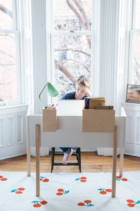 Brooklyn Desk par Oeuf - Journal du Design | Design search | Scoop.it