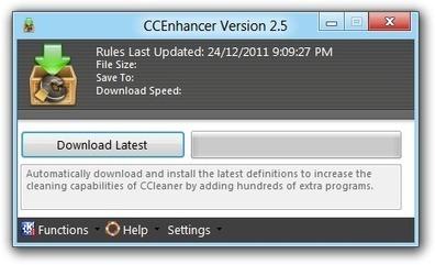 CCEnhancer 3.5 Augmenter la puissance de CCleaner | Le Top des Applications Web et Logiciels Gratuits | Scoop.it