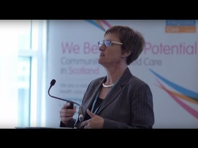 Annie Gunner Logan, Director of CCPS at Community Integrated Care, Scotland. | Social services news | Social services news | Scoop.it