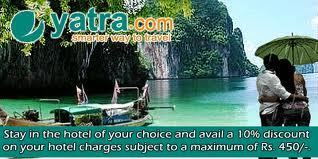 Yatra Coupons: Yatra Promotion Code, Yatra Discount Coupons | Onlne Discount Coupons in India | Scoop.it