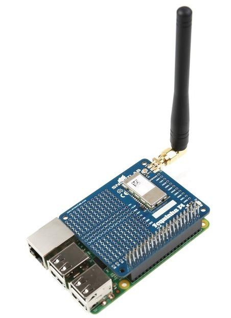 SNOOTLAB sort Foquinha-Pi, une carte Sigfox pour le Raspberry Pi | Framboise 314, le Raspberry Pi à la sauce française…. | Hightech, domotique, robotique et objets connectés sur le Net | Scoop.it