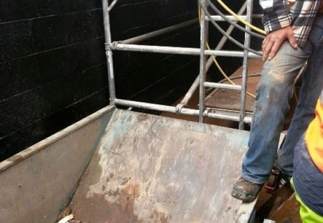Worker falls head first down lift pit  #Construction #HSE   Glazing Architecture Construction   Scoop.it