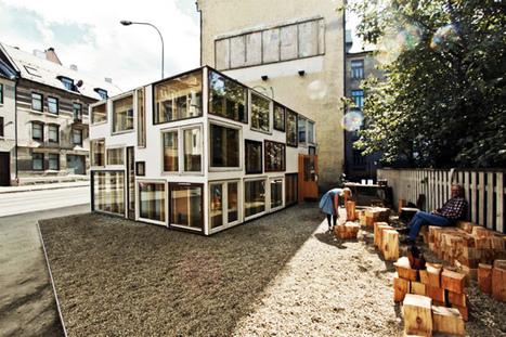 回收正夯!由廢棄門窗打造而成的藝文空間 | 建築 | Scoop.it