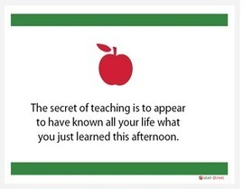 A Great New Collection of Educational Posters for Teachers | Highly Effective Teaching | Scoop.it