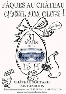 Dimanche 31 Mars 2013 : Saint émilion - Chasse aux oeufs | dordogne - perigord | Scoop.it