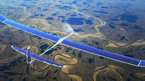 Google acquires drone startup Titan Aerospace - GigaOM   Startup Success   Scoop.it