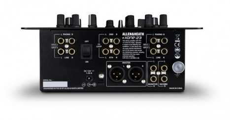 Review & Video: Allen & Heath Xone:23 DJ Mixer | DJing | Scoop.it