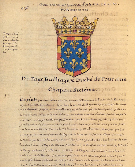 Herald Dick Magazine: l'Armorial de La Planche - 1669 - Gouvernement d'Orléans - Bailliage de Touraine | Rhit Genealogie | Scoop.it