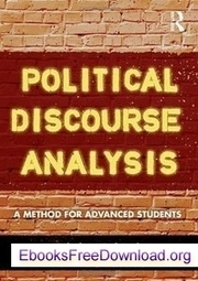 Download Political Discourse Analysis: A Method for Advanced ... | Pragmatics-Discourse Analysis | Scoop.it