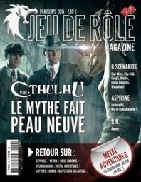 L'aventure Jeu de rôle Magazine continue ! | Imaginaire et jeux de rôle : news | Scoop.it