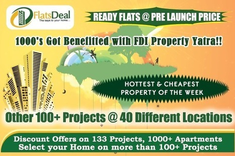 Residential Apartments/Flats for sale in Bangalore – Flatsdeal | FlatsDeal | Scoop.it