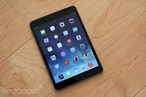 iPad mini with Retina display review: as good as the Air, just smaller | Tugatech | Scoop.it