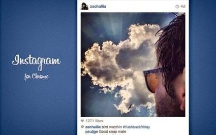 Instagram for Chrome: estensione Chrome per navigare su Instagram   my blog   Scoop.it