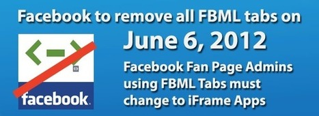 Facebook FBML App removal from Fan Pages | Business 2 Community | Social Media Marketing Superstars | Scoop.it