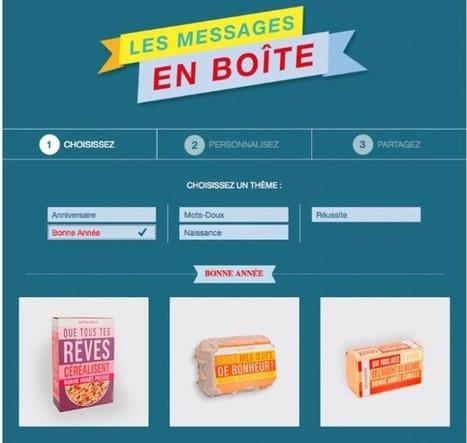 Monoprix lance une appli Facebook pour personnaliser ses packagings   MKT-stmg   Scoop.it