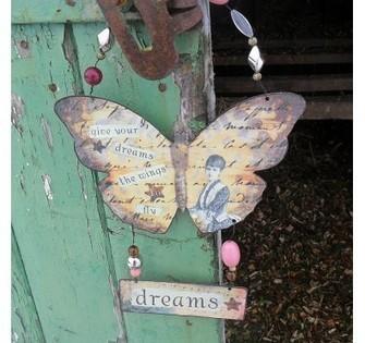 Metal Butterfly - Door Sign | Home Gifts | Scoop.it