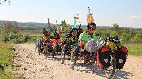 « Voyager à vélo, c'est à la portée de tous » | Bici reclinada - Recumbent bike - Vélo couché | Scoop.it