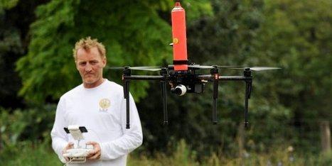 Vidéo. Frelon asiatique : un expert landais détruit les nids avec un drône | Drone | Scoop.it