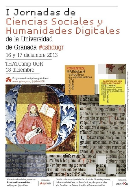 I Jornadas de Ciencias Sociales y Humanidades Digitales de la Universidad de Granada | GrinUGR | Humanidades digitales | Scoop.it