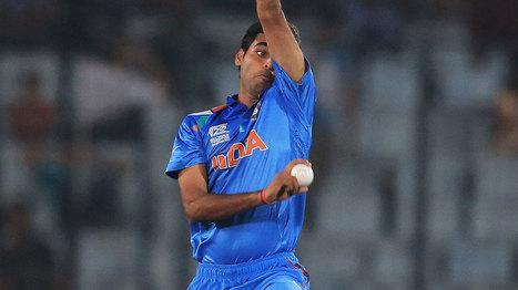 Top 5 spells of Bhuvneshwar Kumar   Latest Sports Events   Scoop.it