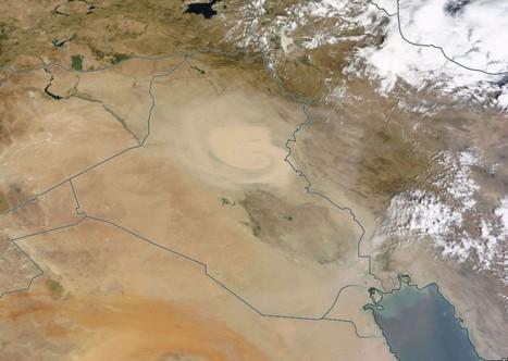 Dustpocalypse: Huge dust swirl in Iraq, Iran   Regional Geography   Scoop.it