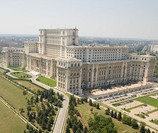 Biggest Parliament World Palace of the Parliament in Bucharest Romania   Balkans countries   Scoop.it