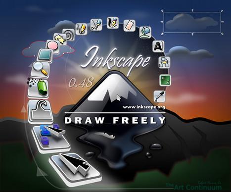 Inkscape - Dibuja Libremente. | Arte y Tecnología | Scoop.it