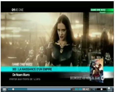 Game One Buzz - Game One | 300 : Rise Of An Empire - TV & Web coverage | Scoop.it