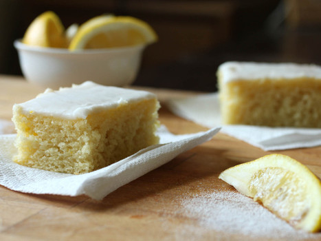 Gluten-Free All Day Lemon Cake With a Choice of Toppings | gluten-free products, recipe ideas, and resources | Scoop.it