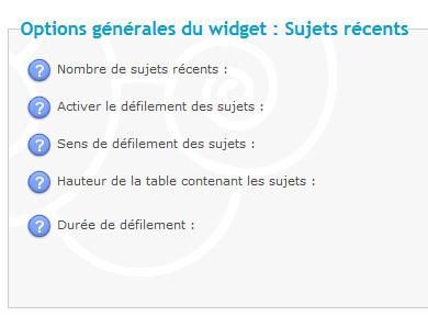 Forumactif: Modification du widget Derniers Sujets | Forumactif | Scoop.it