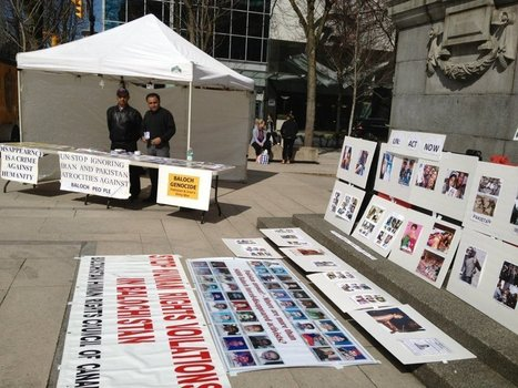 Awareness Campaign: Baloch activists urge UN and International Community to take notice of Baloch genocide | Human Rights and the Will to be free | Scoop.it