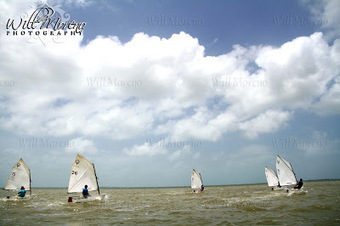 Children under the age of 15 from the Belize Sailing Association Practicing for Competition | Filmbelize | Scoop.it