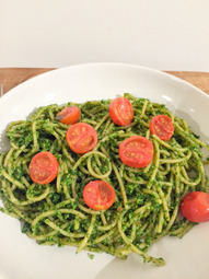 Kale and Almond Pesto Pasta | Food for Foodies | Scoop.it