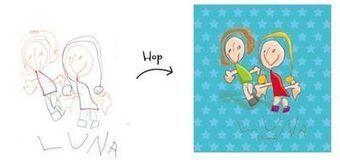 Les dessins d'enfants transformés en objets de décoration | business plan conseils 06.68.32.92.46 www.dice33.net | Scoop.it