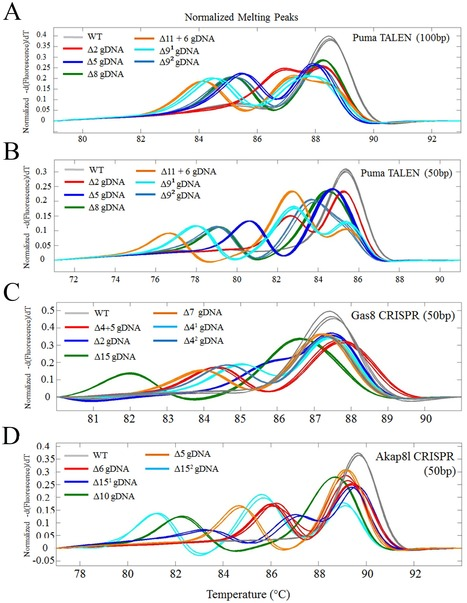 High-Throughput Genome Editing and Phenotyping Facilitated by High Resolution Melting Curve Analysis   Awesome Science That  I Like   Scoop.it