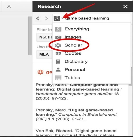 Here Is How to Easily  Cite Papers in Different Formats in Google Docs | Tech Integrators | Scoop.it