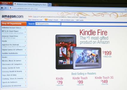 Amazon envahit le marché des tablettes numériques avec la Kindle Fire | High-Tech news | Scoop.it