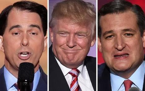 Walker joins backlash over Cruz refusal to endorse Trump | United States Politics | Scoop.it