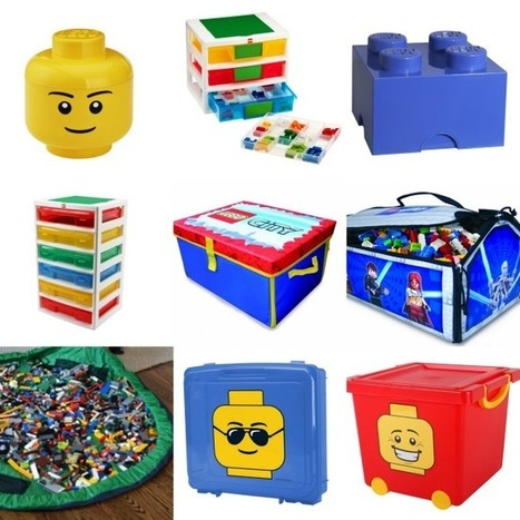 37 Genius LEGO Organization Ideas - Kids Activities Blog | Heron | Scoop.it
