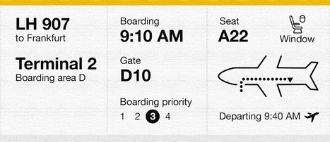 While I Was Redesigning a Boarding Pass, Paper Got Old — UX Planet | User Experience, Usability and Web Optimization | Scoop.it