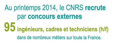 CNRS - Recrutement ingénieurs, cadres, techniciens   Ingénieur   Scoop.it