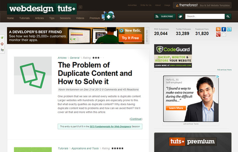 Tutorial and Resource Blogs for Web Design and Web-Dev Lovers   Advertising and Social Media Tools   Scoop.it