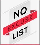 No Excuse List | The New Era of Learning | Scoop.it