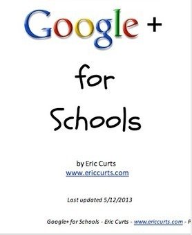 Google+ for Schools- A Must Read Guide ~ Educational Technology and Mobile Learning | How to utilize web2.0 technologies in online fundraising, promotion and marketing | Scoop.it