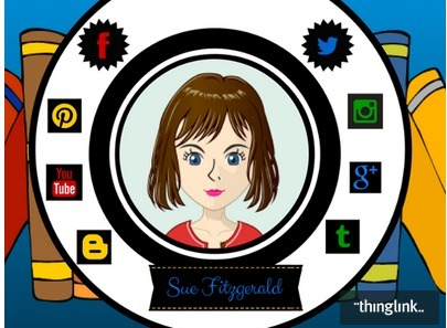 Spotlight on Sue Fitzgerald | ThingLink Blog | Cool Library Information | Scoop.it