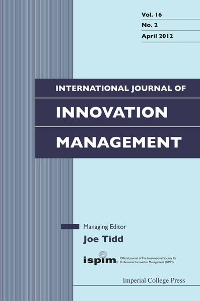 International Journal of Innovation Management 12(3) - Perspectives on User Innovation | Participatory & collaborative design | Diseño participativo y colaborativo | Scoop.it