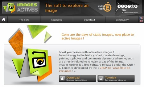 Images Actives - The soft to explore an image | 21st Century Tools for Teaching-People and Learners | Scoop.it